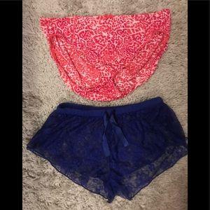 2 piece XL panty bundle NWOT